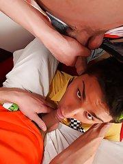 Teen jerking gay men group and gay group masturbation video at Crazy Party Boys