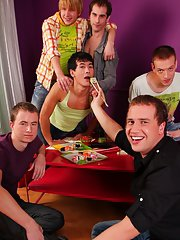 Groupsex gangbang orgy andnot gay and gay male group sex at Crazy Party Boys