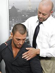 Russian gay fucking and gay fucking kissing at My Gay Boss
