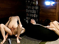 Gay male shaved ass and naked twinks boys butts - at Boy Feast!