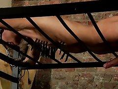 Extreme male bondage and male bondage equipment - Boy Napped!