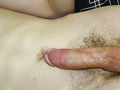 He strokes it until he is willing to pop, spurting cum all over his stomach gay navy boys nude at Homo EMO!