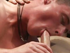 Nude sex boy twink and his first gay double penetration at EuroCreme