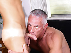 Real gay videos he fuck his ass anal himself and homo hairy nerds at Bang Me Sugar Daddy
