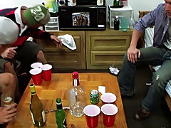 Well this looked like a nice-looking casual game of strip pong, but the babes kept making up these ridiculous rules and the lads appeared to be inexpe