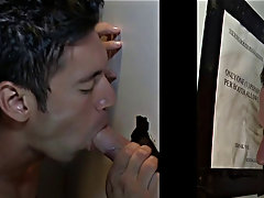 Skinny gay facial cum blowjob and hidden cam buddy blowjob and swallow