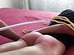 Spanked in bedroom male spanking fun good play