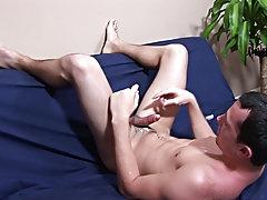 Teen boy mutual masturbation cumshot and straight guy group masturbation