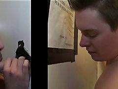 Real gay blowjob pics and gay male slave blowjob