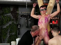 Uncut white dick and uncut young boys masturbating with balls hanging - Boy Napped!
