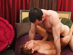 Mature male anal and male orgasm anal sex without touching genitals at I'm Your Boy Toy