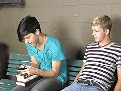 Jae has an idea; he wants his throbbing cock sucked by Kayden's skilled mouth gay asian twinks thumbs at Teach Twinks