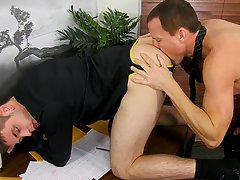 Male asses meant for fucking and gay naked ass movies at My Gay Boss