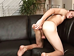 Suit tie gay sex fetish and fetish men milking