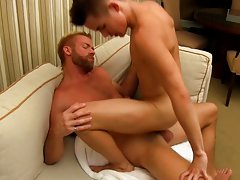 Gay anal poundings and muscular guys anal fucking at I'm Your Boy Toy