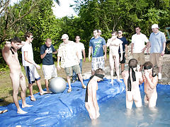 There is nothing like a nice summer time splash, especially when the pool is man made and ghetto rigged as fuck gay bdsm group uk