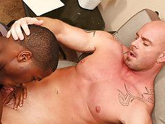 Teen boy close up ass pics and huge male cock fucking men tube at My Gay Boss