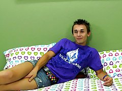 Jacobey might rock the short-shorts but this guy also knows how to handle a motorcycle betwixt his legs gay twink spanking videos at Boy Crush!