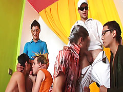 Gay butt fuck group and gay bdsm group uk at Crazy Party Boys