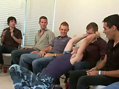 Gay group sex and group guys masturbating pics at Sausage Party