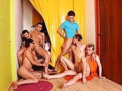 Gay youth groups and force fwd gay group soccer at Crazy Party Boys