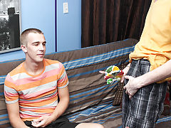 Timo then opens his mouth for a cum-eating facial from Patrick free gay teen twink