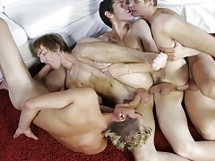 Free gay bear gangbang sex pic at Staxus