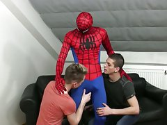 Big dick teens boys fuck his friend and twink group gay video at Staxus