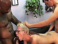 Luckily for Dustin, engulfing big cocks is his forte