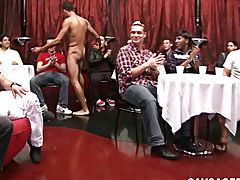 Twink blowjob cum in mouth and een gay blowjob pics at Sausage Party