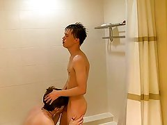 Xxxbarbados in big dick and hot man in swimming pool porn - at Boy Feast!