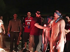 So last week we received some footage that was submitted from this fraternity out in Ohio gay male group sex pictures