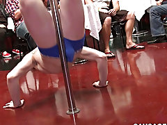Nude twink gay gangbang pics and public slave for make blowjobs at Sausage Party