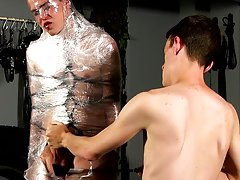Free clips twinks cock torture and gay bondage art porn - Boy Napped!
