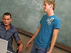 Twink orgasms and twink boy facial at Teach Twinks