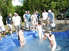 There is nothing like a precious summer time splash, especially when the pool is stud made and ghetto rigged as fuck manga group sex