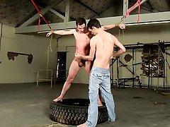 Gay bondage sex and male genital bondage - Boy Napped!