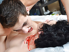 Free twink nude gay picture posts and amateur sex video of my wife fucking another man first time - Gay Twinks Vampires Saga!