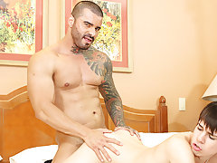 Older men cum eating young boys and boy cumming in his friends undies at I'm Your Boy Toy