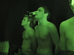 LMAO this has got to be one of the best pranks/hazings we've seen to date! The pledges in the video were tricked by their frat brothers. They tho