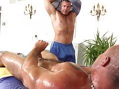 We had one hell of a wrestling match gay bears sex