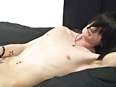 This dutch emo loves to tease and play with his beautiful cock boy models nude at Homo EMO!