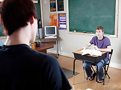Young gay twink boys redhead and chub twink at Teach Twinks