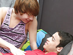 After the two makeout and lose some clothes, Kyler feeds Dustin his uncut cock gay porn passwords boy