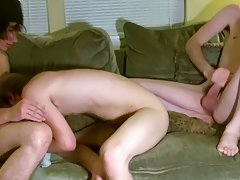 After the 3 of them kiss and engulf every other, Erik gets screwed by Tristan during the time that moaning around Aron's dick in his mouth date g