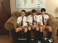 He disrobes 'em down and then teaches them how to suck cock twinks gay film clips at Teach Twinks