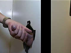 Glory hole blowjob gay and tyler bolt blowjob
