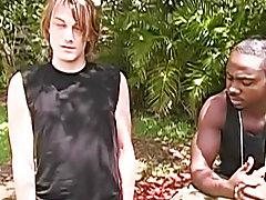Interracial gay bareback breeding and interracial couples