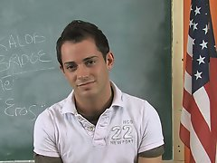 Twink balls slapping and twinks in skin tight black jeans at Teach Twinks