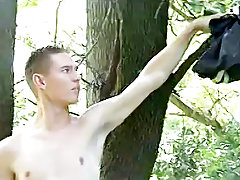 Teen erect cock solo and the male art of masturbation - at Tasty Twink!